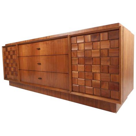 9 drawer dresser mid century mid century modern brutalist style nine drawer dresser for