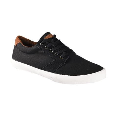 Sepatu Airwalk Canvas jual airwalk herb aiw16cv1277s sepatu pria black camel