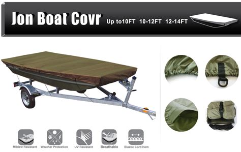 boat covers for jon boats leader accessories olive jon boat cover