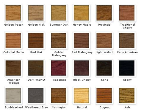 varathane stain colors best 18 wood stains images on diy and crafts