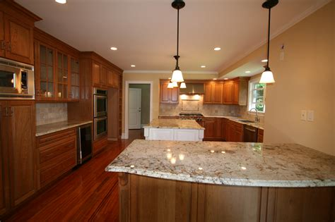 check out the pics of new kitchens halliday construction