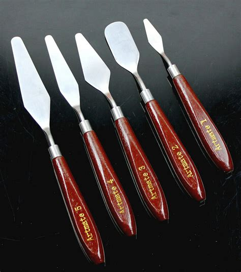 5 Painting Knife by 5 Stainless Steel Painting Knife Set Pallet Knife Artist S