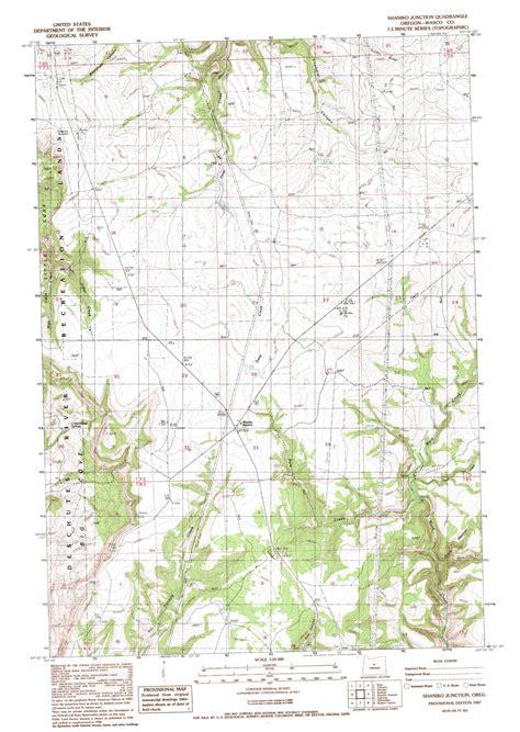 shaniko oregon map shaniko junction topographic map or usgs topo 44120h8