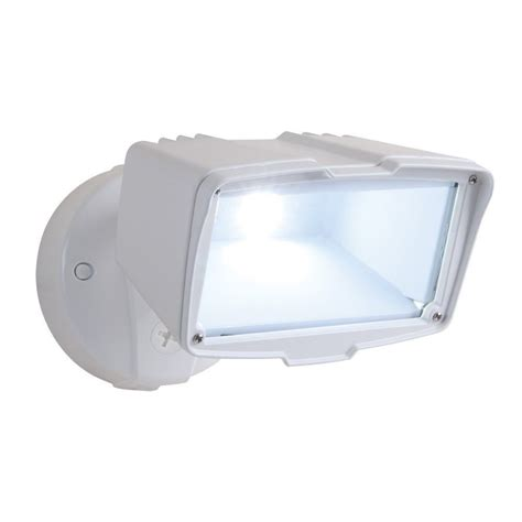 outdoor white led flood light cooper lighting fsl2030lw all pro white led security flood