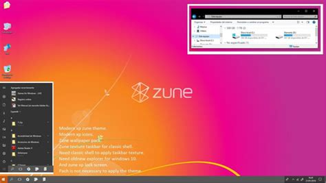 zune theme for windows 10 desktop themes windows 10 themes free windows 8 visual