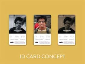 staff identification card design by tridz dribbble