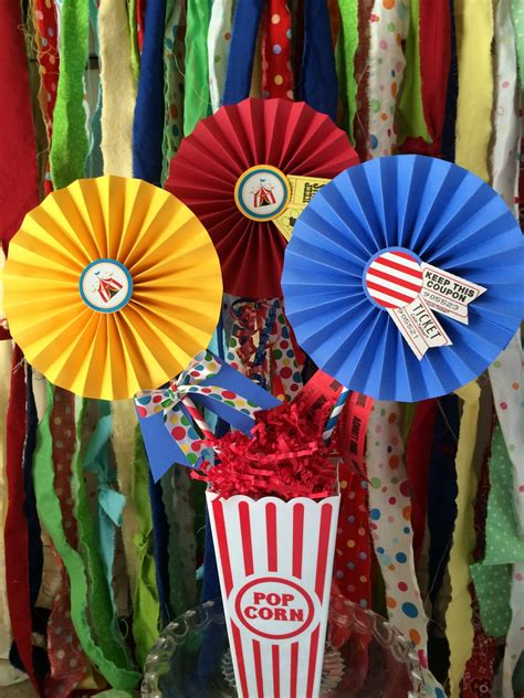 circus theme decor circus decorations for carnival or circus themed