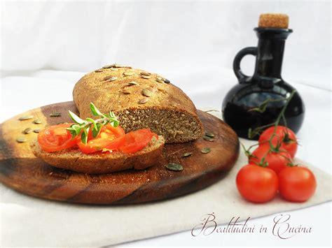 semi di girasole ricette cucina filoncino con farina di semi di girasole beatitudini in