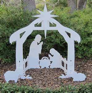 christmas garden decorations santa deer nativity sets
