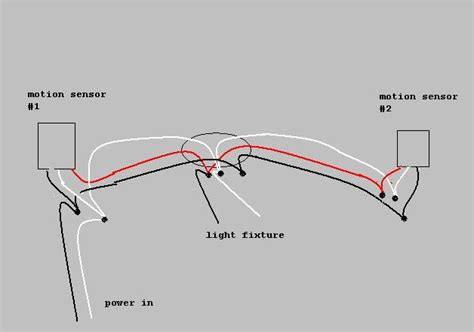motion sensor light wiring diagram motion free engine