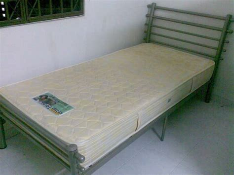 single bed with vono mattress for sale from penang bayan