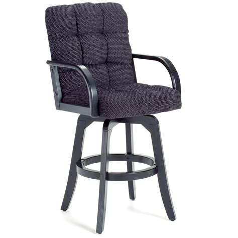 Bar Stool With Arms Hillsdale 30 Inch Athens Swivel Bar Stool With Arms At Hayneedle