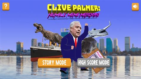 clive palmer    mobile game   terrible