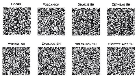qr code shiny pokemon volcanion qr code shiny pokemon hoopa car interior design