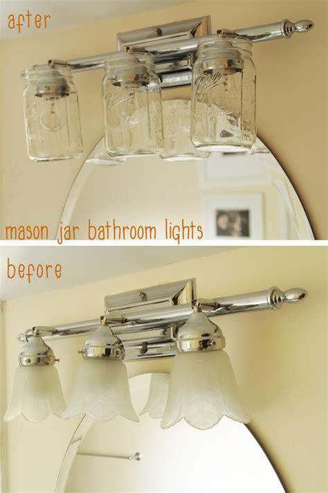 jar bathroom light fixture 17 best images about bathroom rework ideas on