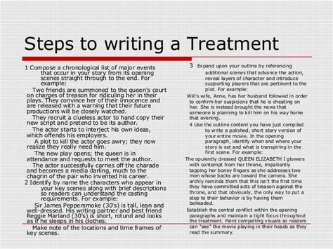 writing a treatment 3