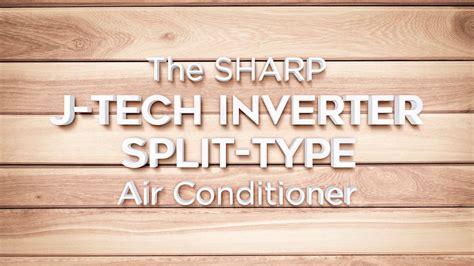 Lemari Es Sharp J Tech Inverter sharp j tech inverter air conditioner
