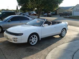 Toyota Celica Convertible For Sale 1993 Toyota Celica Gt Convertible White For Sale Fort
