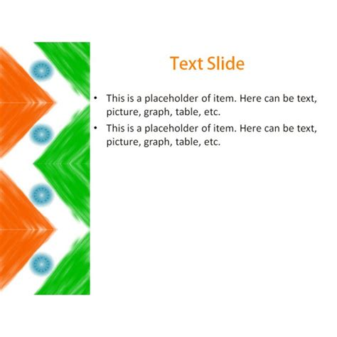 Indian Flag Powerpoint Template Background For India Powerpoint Template