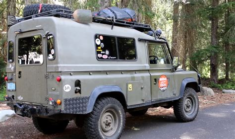 land rover 110 overland land rover defender 110 rig walk around overland bound