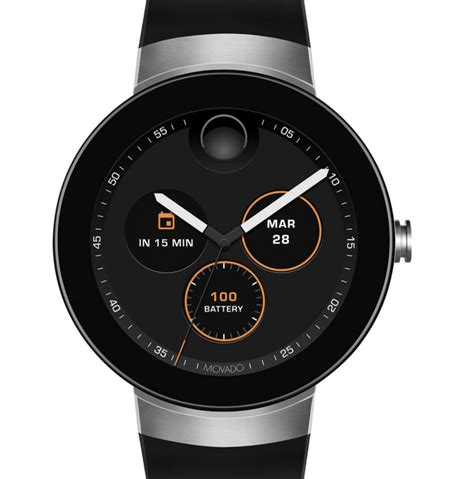 android wear smartwatch movado connect android wear smartwatch goes on sale u s notebookcheck net news