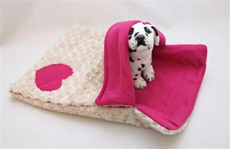 warm snuggly 4 way pink puppy sleeping bag bed