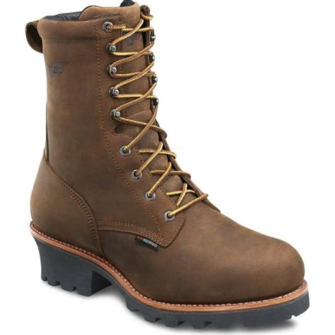 mens redwing boots s wing 616 loggermax logger boots