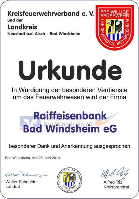 vr bank uffenheim neustadt aisch kreisfeuerwehrverband neustadt a d aisch bad windsheim