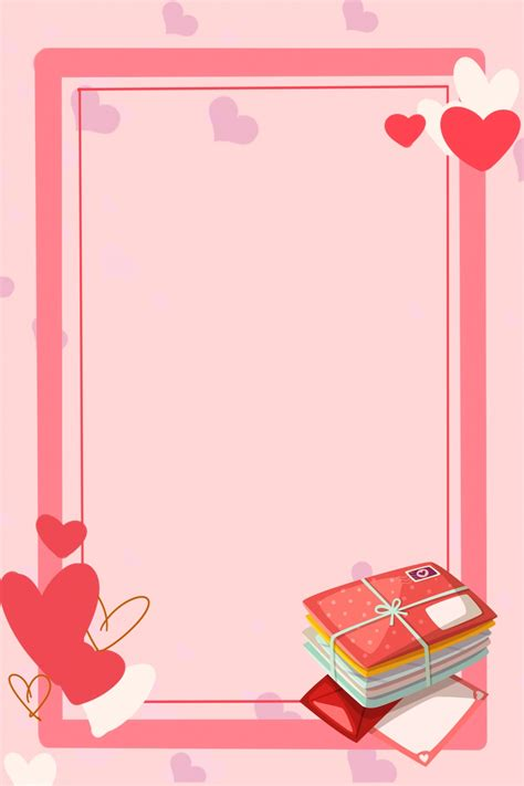 tanabata love letter love border background picture
