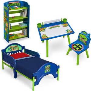 turtle bedroom furniture nickelodeon mutant turtles bedroom set with