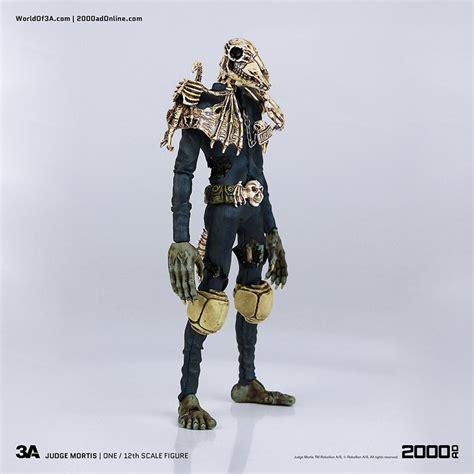 figure 3a 3a toys 2000 ad judge mortis 12th scale figure mightymega