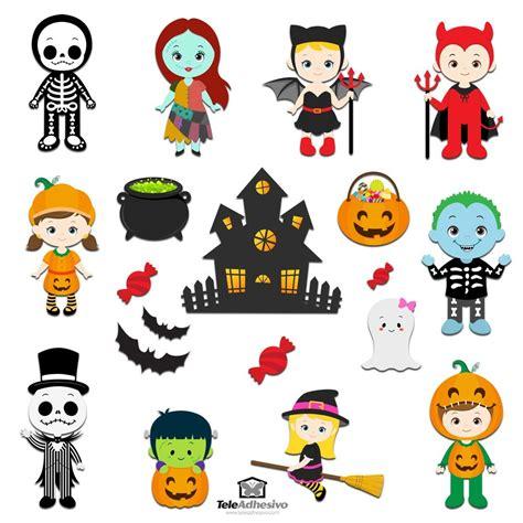 imagenes halloween infantiles vinilos decorativos infantiles de halloween teleadhesivo