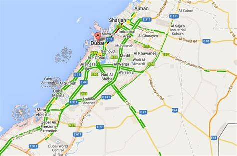 printable road map of abu dhabi how google maps can deliver 550m annual benefits to uae