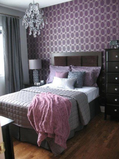 purple and silver room purple and silver guest bedroom cute room ideas pinterest