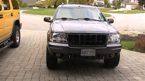 jeep wj grill jeep wj project update removal of grill and plans