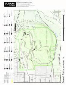 powell butte oregon map powell butte nature park oregon