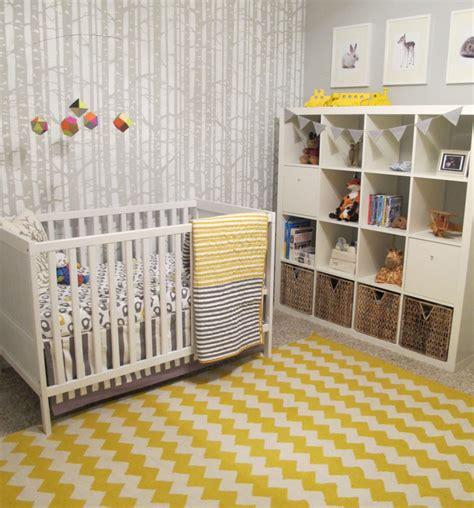 Nursery Decor Wallpaper Tiago S Whimsical Woodland Project Nursery