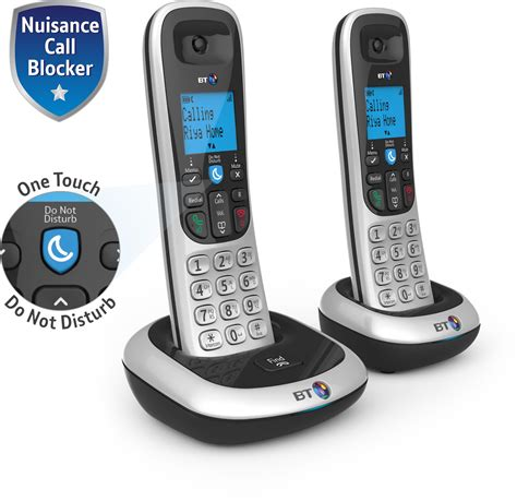 call house phone bt 2200 nuisance call blocker cordless home phone amazon
