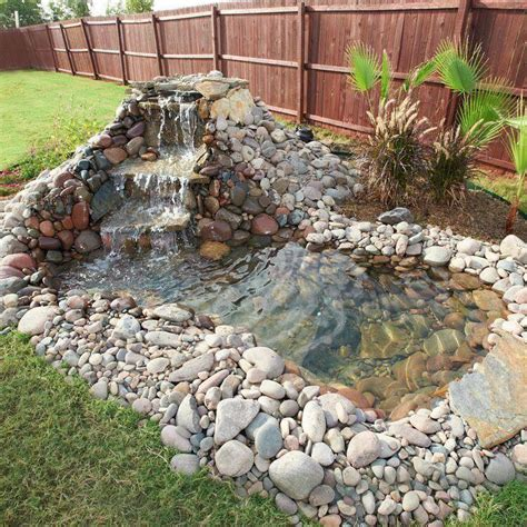 how to build a pool waterfall build a backyard pond and waterfall home design garden