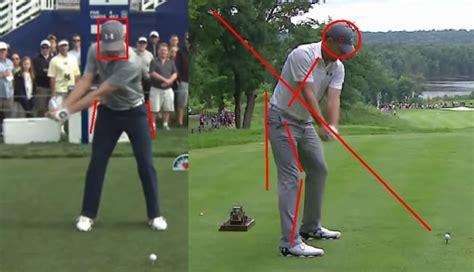 jordan speith swing jordan spieth golf swing analysis consistentgolf com