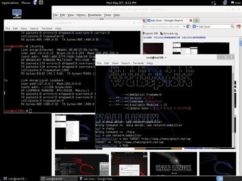 tutorial kali linux mini kali linux chasingtech net