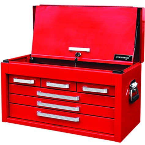 6 Drawer Tool Chest by Kromex 6 Drawer Tool Chest With Lockable Front Cover Ebay