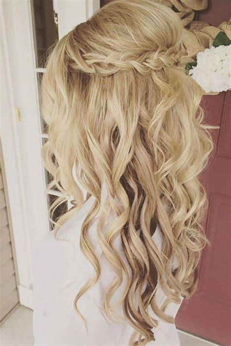 Wedding Hair Curls by 15 Ideas Of Hairstyles Curls Wedding