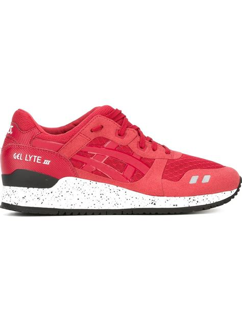 sneaker shoes for asics lace up sneakers in for lyst
