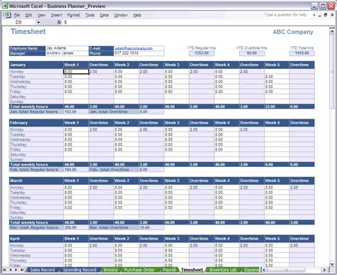 Galerry free printable monthly financial planner