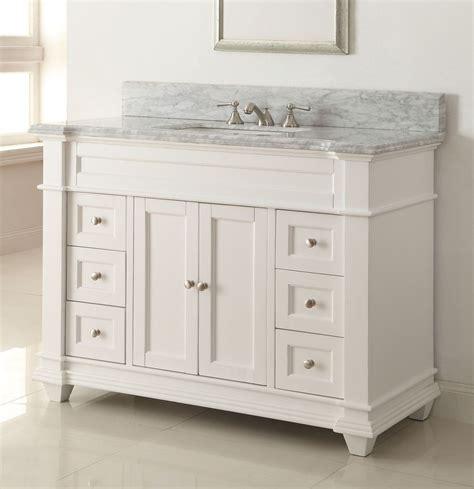 Model Vanity by 48 Quot Kerianne Bathroom Sink Vanity Cabinet Model Hf 1084