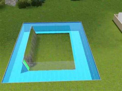 Piscine Dentro Casa by The Sims 3 Tutorial Su Come Costruire Una Casa Dentro Una