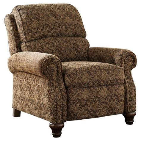 Accent Recliner by Walworth Accent Low Leg Recliner Garnet Signature Design