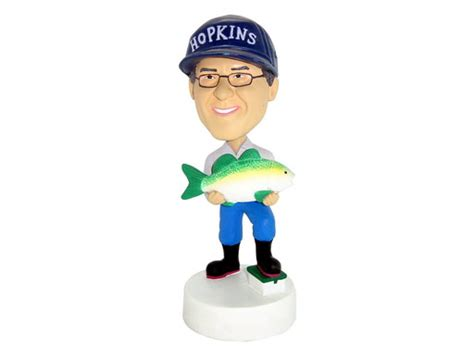 bobblehead fred fred the fisherman bobblehead
