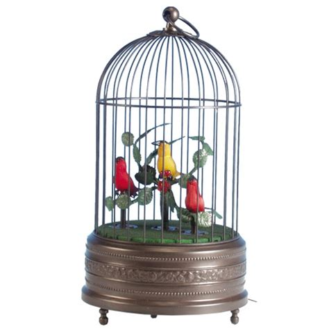 singing bird cages from reuge music